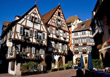 Colmar traditional houses