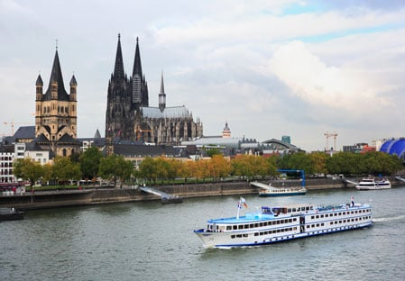 K 246 Ln Cologne Rhine River Cruise Europe Itineraries