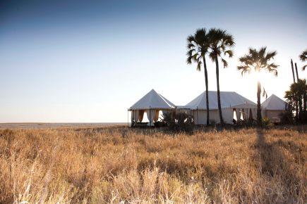 San Camp, The Makgadikgadi Pans