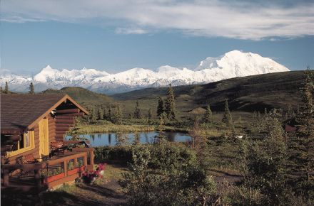 Camp Denali and North Face Lodge, Within the Park