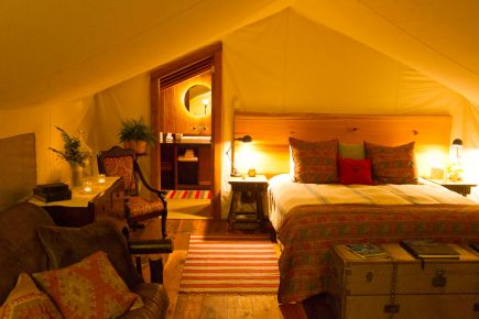 Clayoquot Wilderness Resort: Outpost at Bedwell River, Tofino