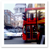 Budget Travel in London - Take the Bus