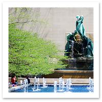Chicago Art Institute Gardens