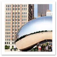 Chicago Millennium Park The Bean