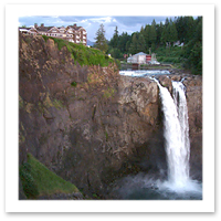 Best Hotels of the Pacific Northwest- Salish Lodge in Snoqualmie Washington.