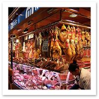 Mercat de la Boqueria in Barcelona