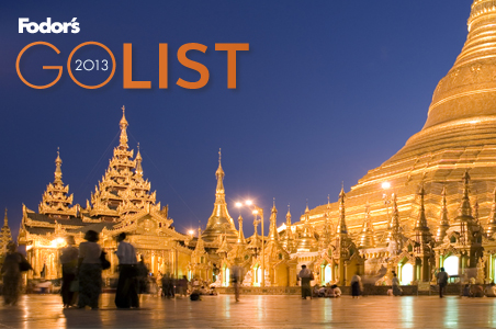 Where to Go in 2013: Fodor's Go List