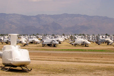 VIDEO: US Airforce's Aircraft 'Boneyard'