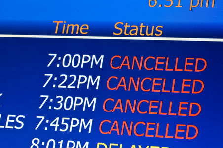 Thousands of Cancellations Due to Midwest Storm