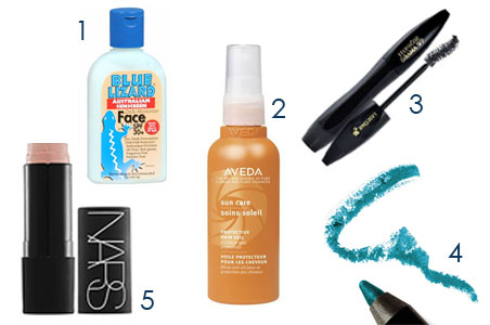 5 Best Beauty Products for the Beach