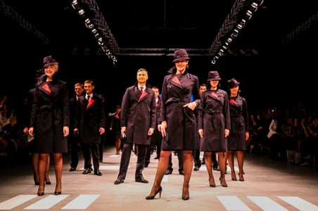 Airline Uniforms Get a Fashion Update
