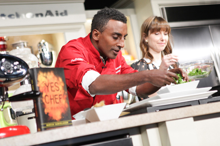 Marcus Samuelsson, Ted Allen, Lee Schrager Dish on the NYC Wine and Food Fest
