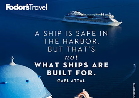 Travel Quote of the Week: On Leaving the Harbor