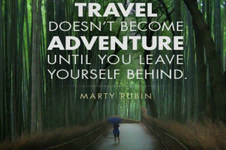 Travel Quote of the Week: On Adventure