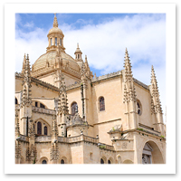 Segovia, Spain. Cathedral