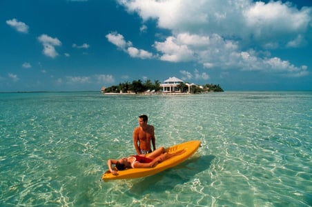 Cayo-Espanto.Top 10 Private Island Resorts for Honeymoons