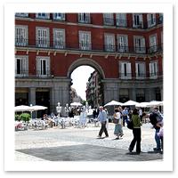 Playa Mayor, Madrid, Spain