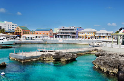 Grand Cayman Georgetown Waterfront Ping Area Jpg