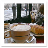 Tips to Avoid Vacation Weight Gain - Skip the croissant