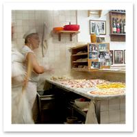 Baffetto Pizza in Rome, Italy