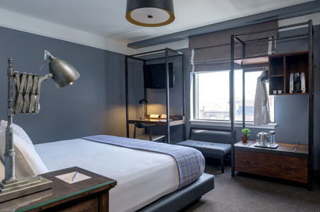 Cool Boutique Boxer Hotel Opens In Boston Fodors Travel