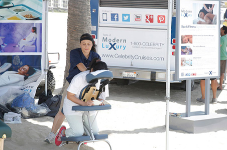 Celebrity Cruises Opens Pop-Up Food Truck in Southern California