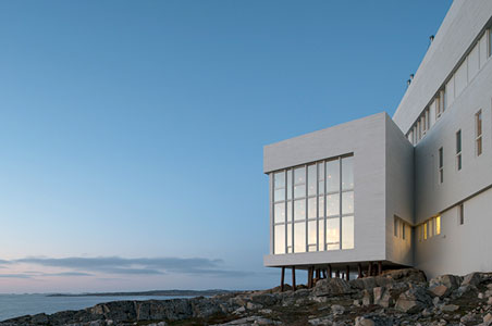 Remote, Chic Fogo Island Inn Opens in Canada