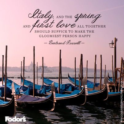 Travel Quote Of The Week On La Dolce Vita Fodors Travel