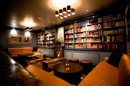Attirant Library Bar Downtown La