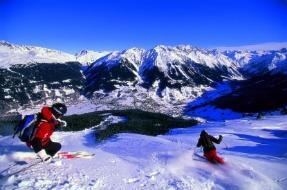 St. Moritz Skiing