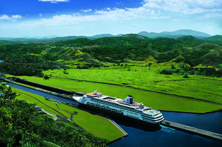 Cruising the Panama Canal with Holland America
