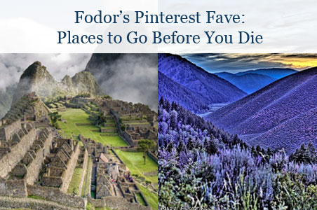 Follow Favorite: Places to Go Before You Die