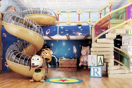 Disney Cruise Line Updates Disney Magic Ship - Toy disney cruise ship