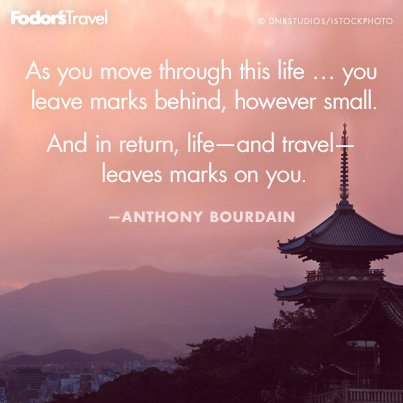 Travel Quote Of The Week On How Travel Transforms