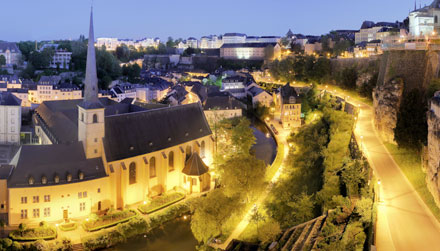 Photo of Luxembourg City