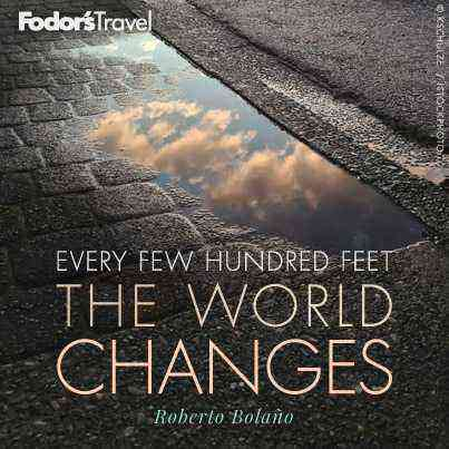 Travel Quote of the Week: On the Ever-changing World ...
