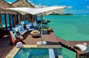 Take a Look at These Over-Water Bungalows in the Caribbean