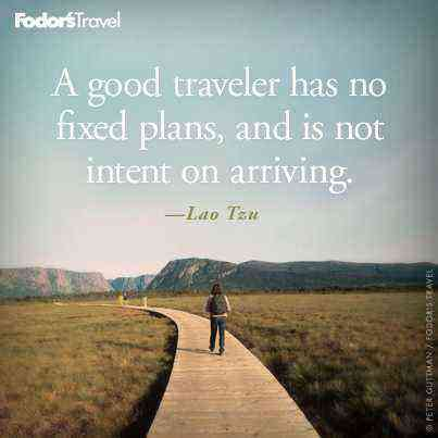 Travel Quote of the Week: On Traveling Freely