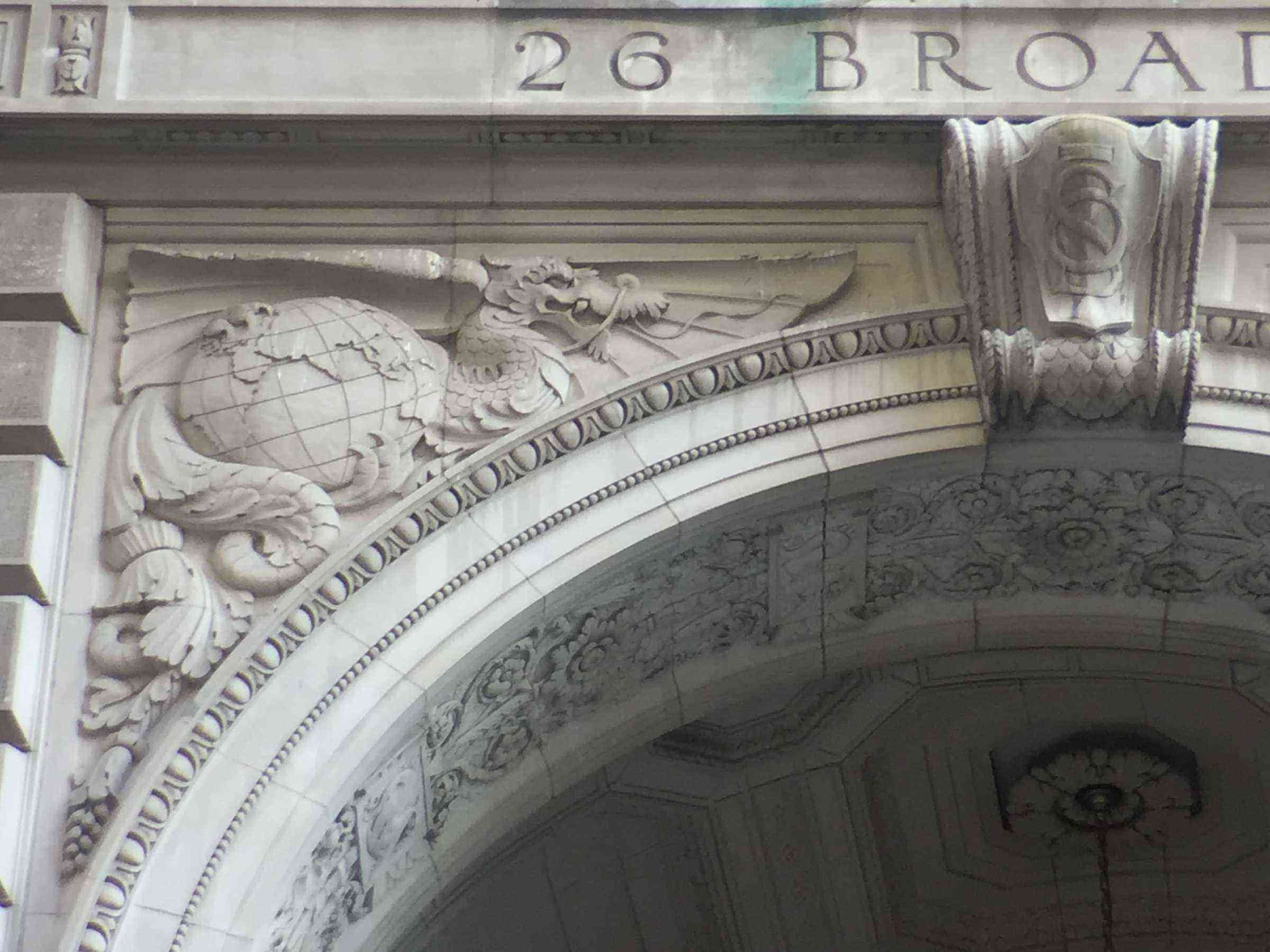 5) 26 Broadway, Dragon Clutches Eastern Hemisphere, etc
