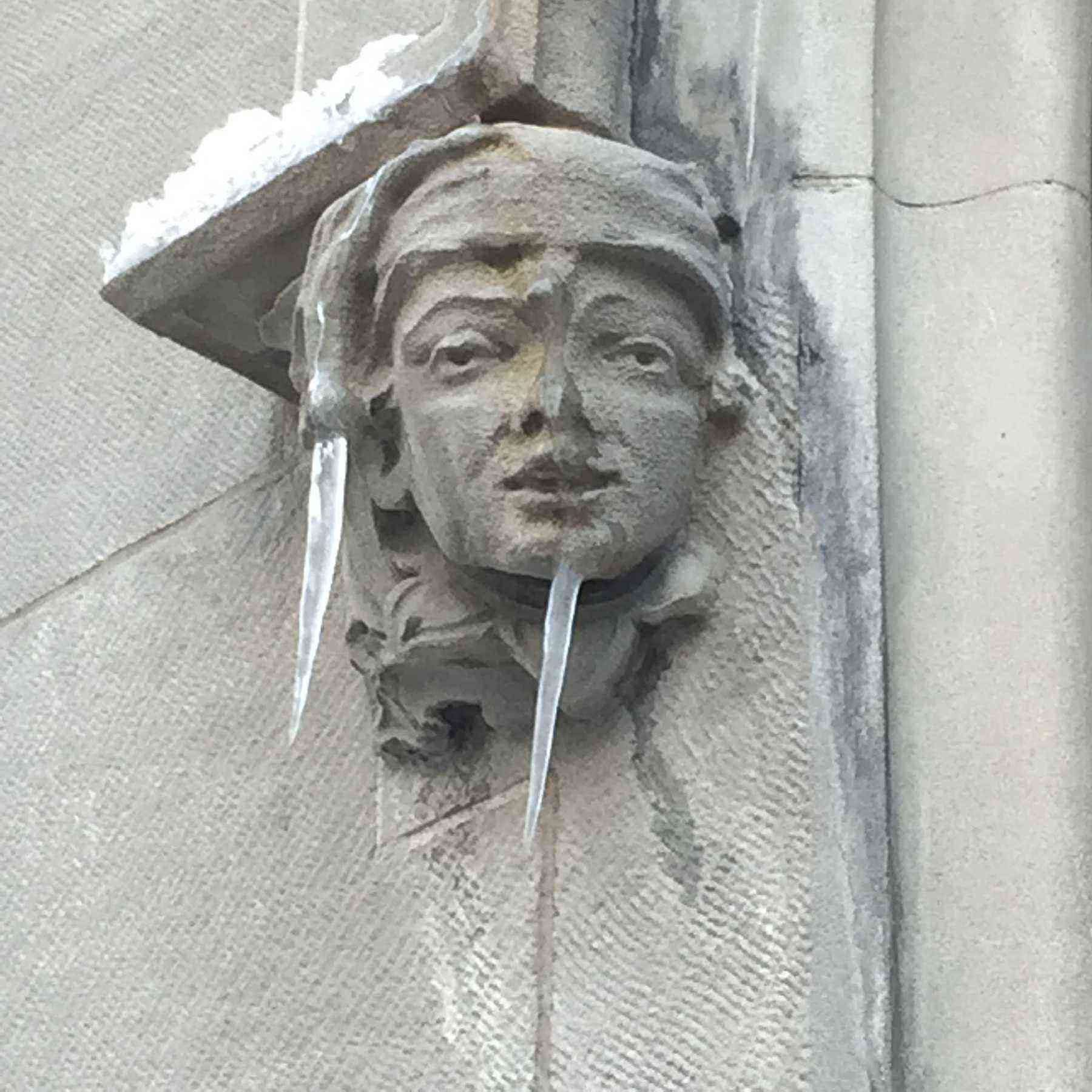 7) Jewish National Fund icicle gargoyle, 42 E 69th St