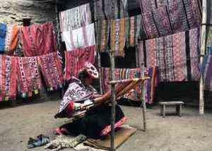 The Crazy Colorful Textiles of Peru