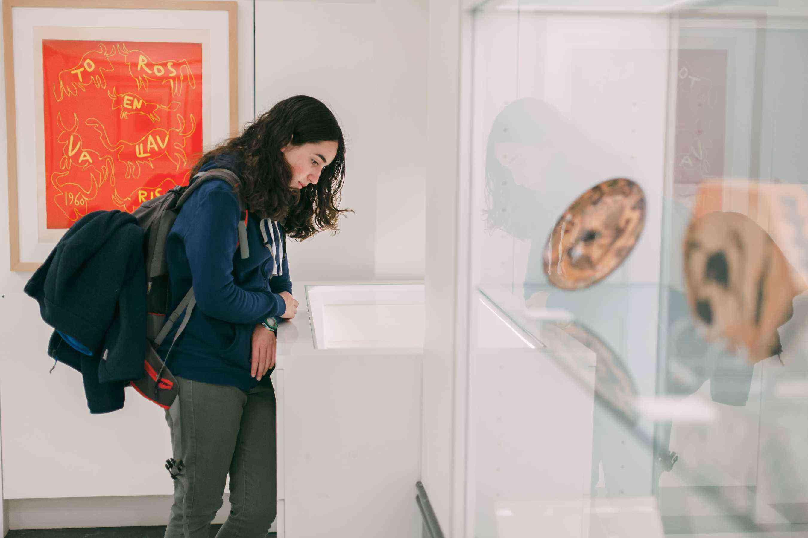 Mediaci+¦n cultural Museo Picasso Colecci+¦n Eugenio Arias. Foto de Guillermo Gumiel