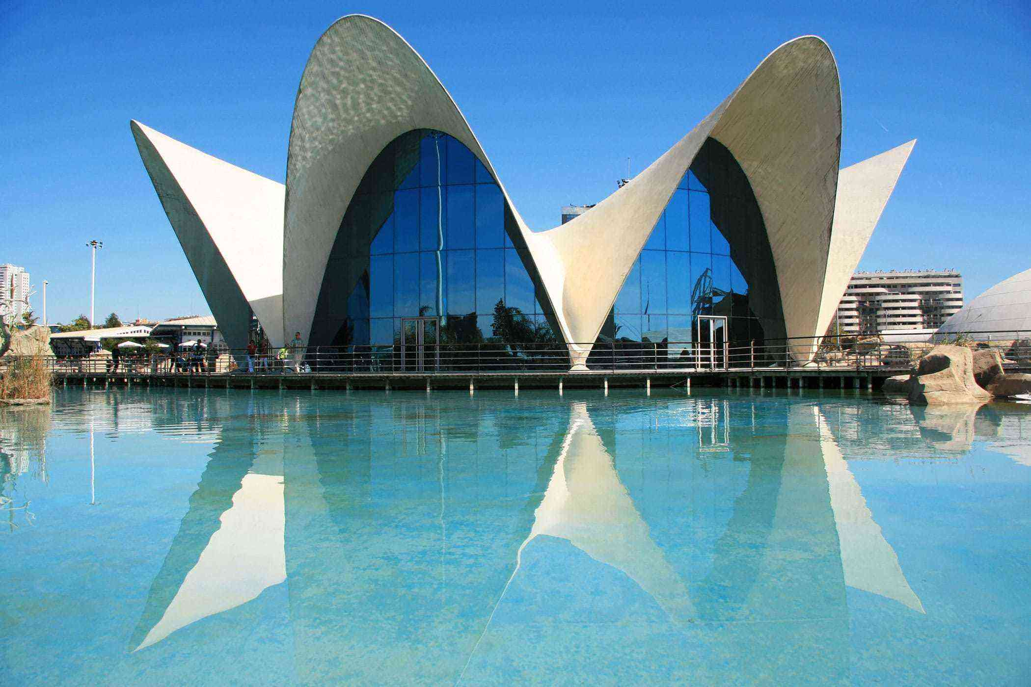 The  Valencia, Architecture Curiously of Unique Spain