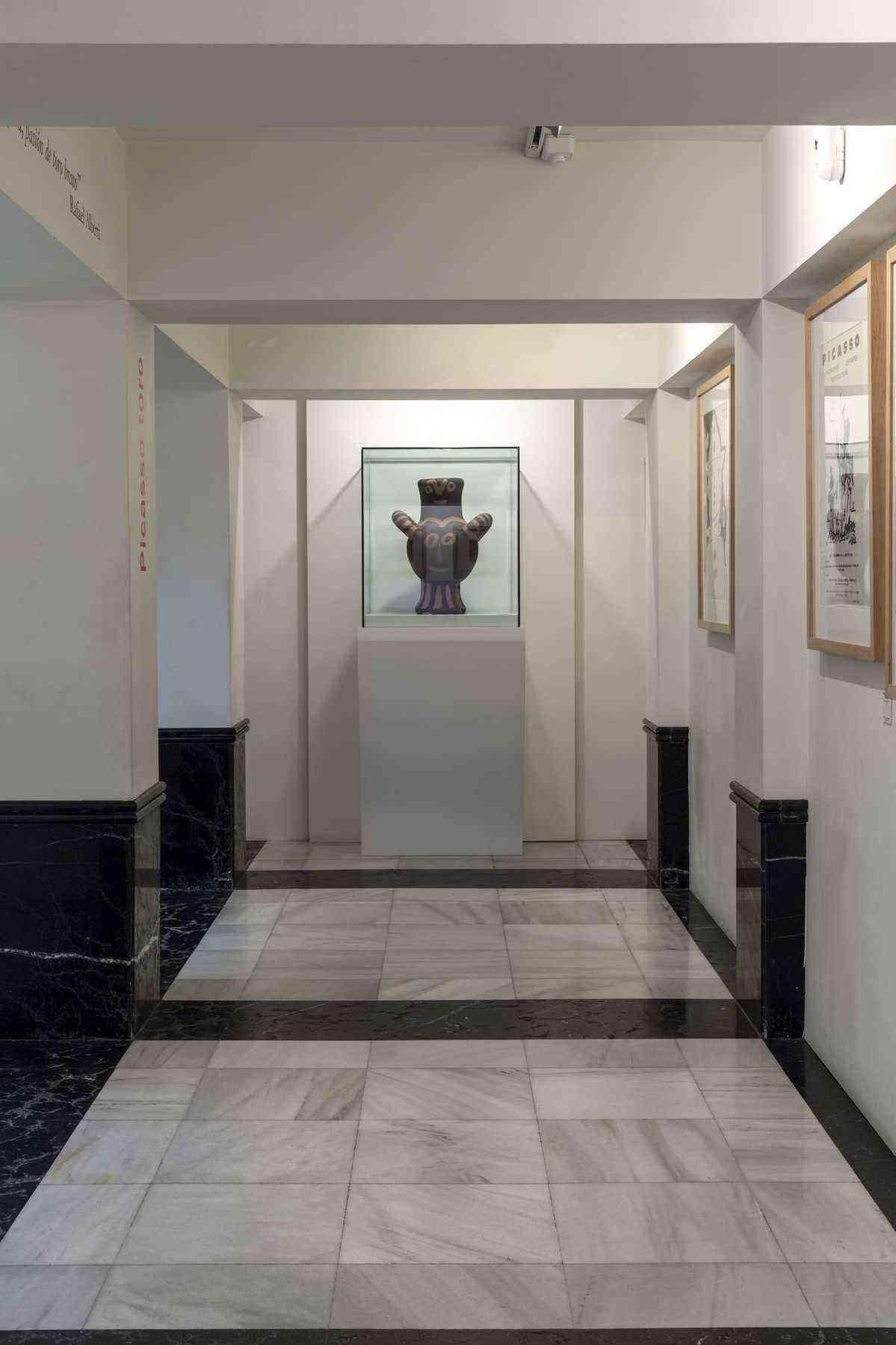Vista del Museo Picasso Colecci+¦n Eugenio Arias. Foto de Amador Toril