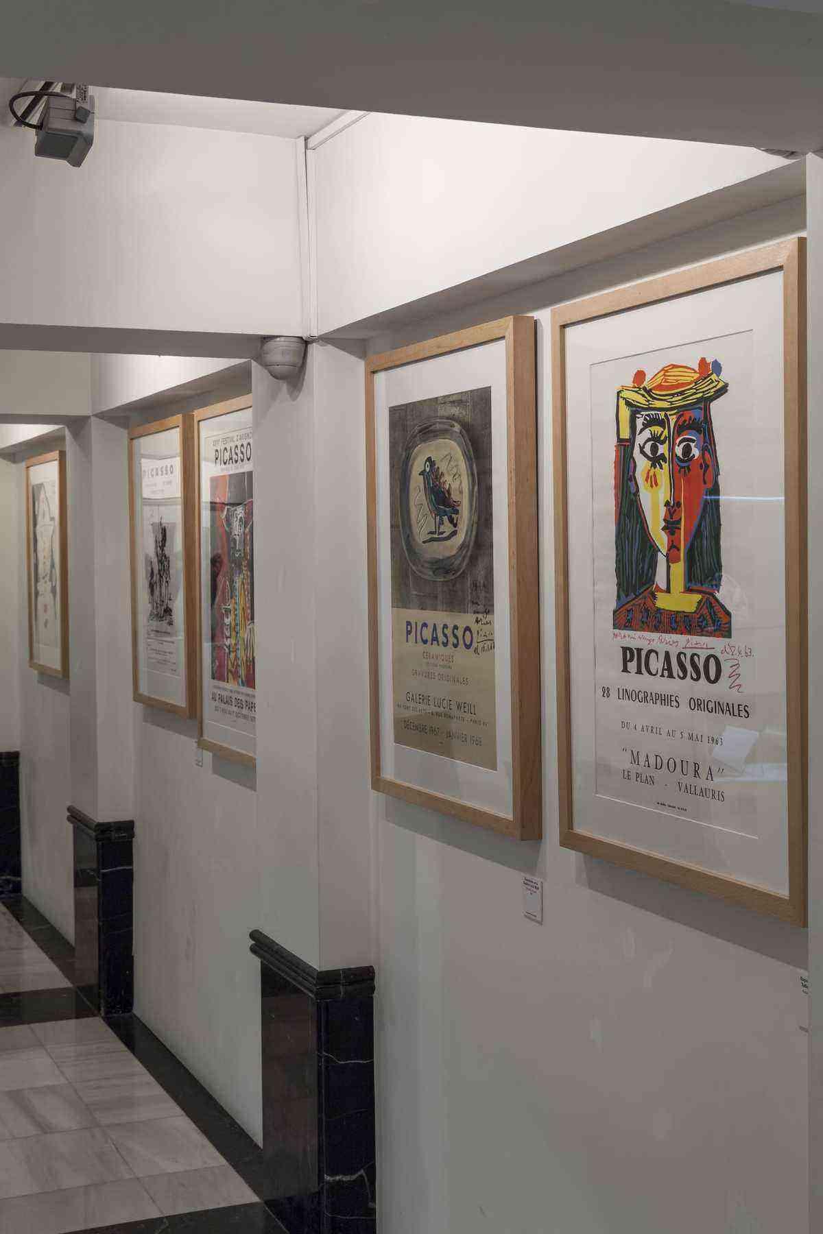 Vista del Museo Picasso Colecci+¦n Eugenio Arias. Foto de Amador Toril4