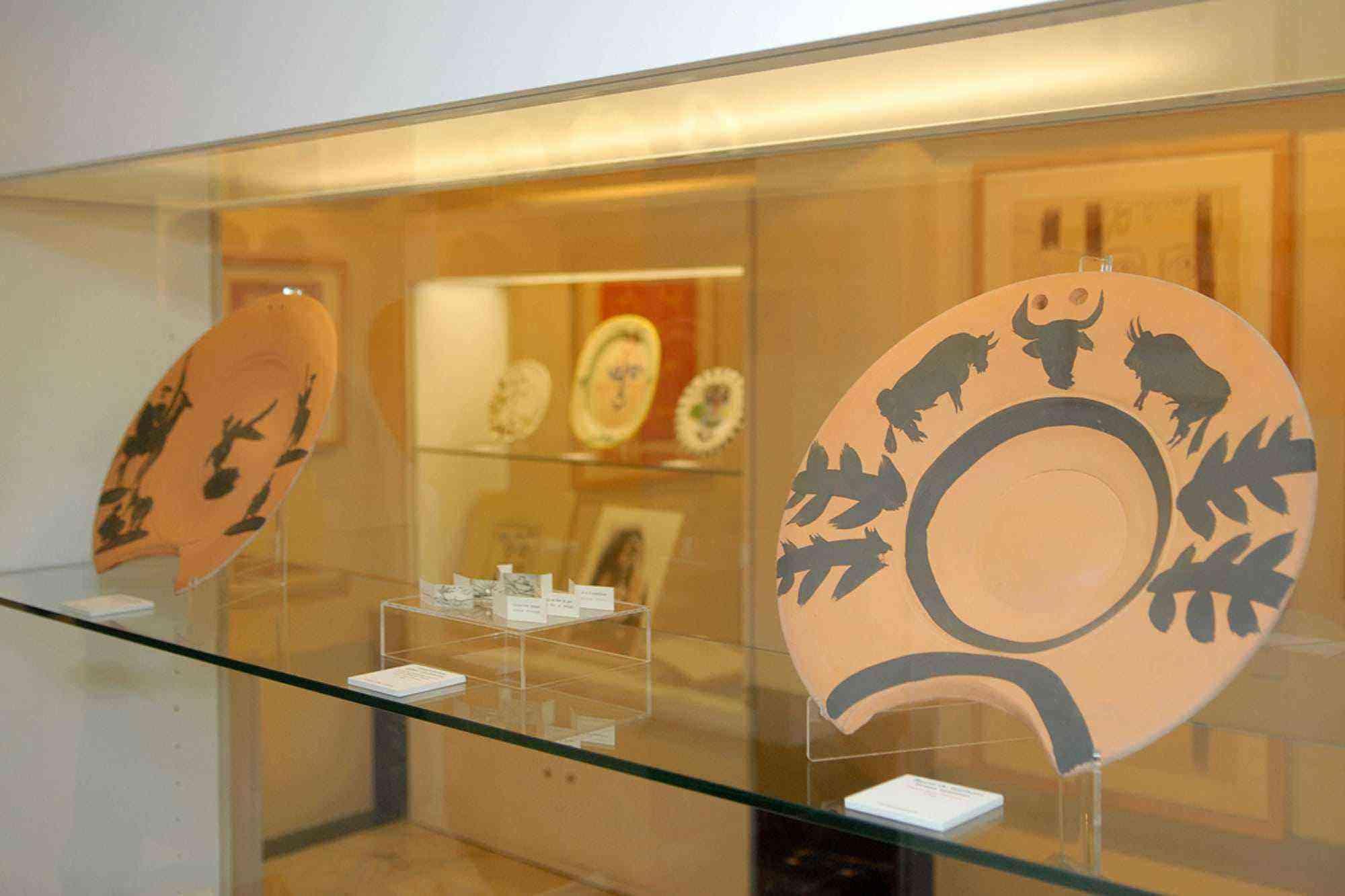 Vitrina Museo Picasso Colecci+¦n Eugeni Arias 2