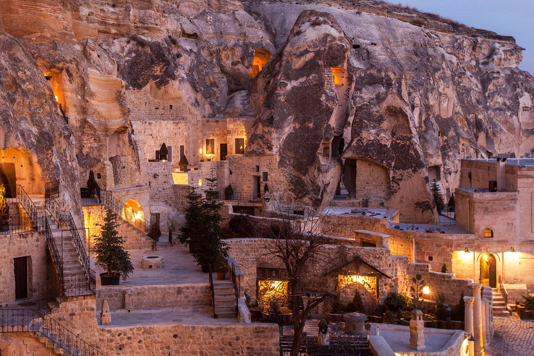 Cliffside Hotels Of The Middle East