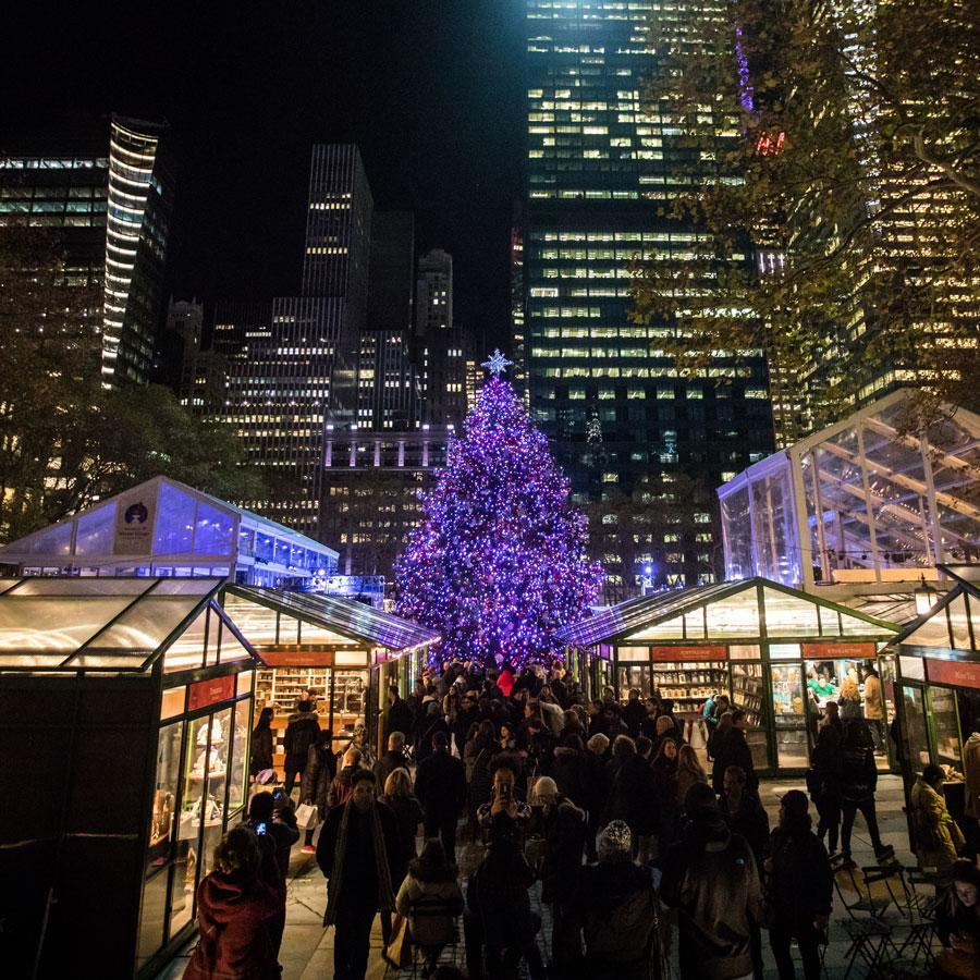 Christmas Tree In Nyc.14 Nyc Christmas Trees Besides Rockefeller Center