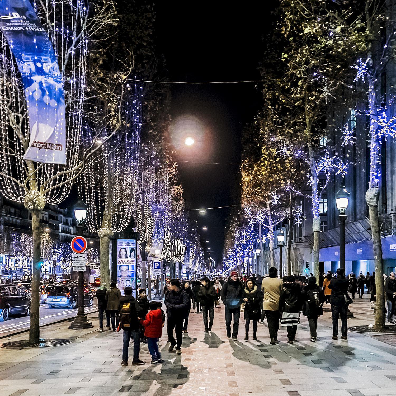 Christmas Lights In Paris.11 Ways To Celebrate Christmas In Paris