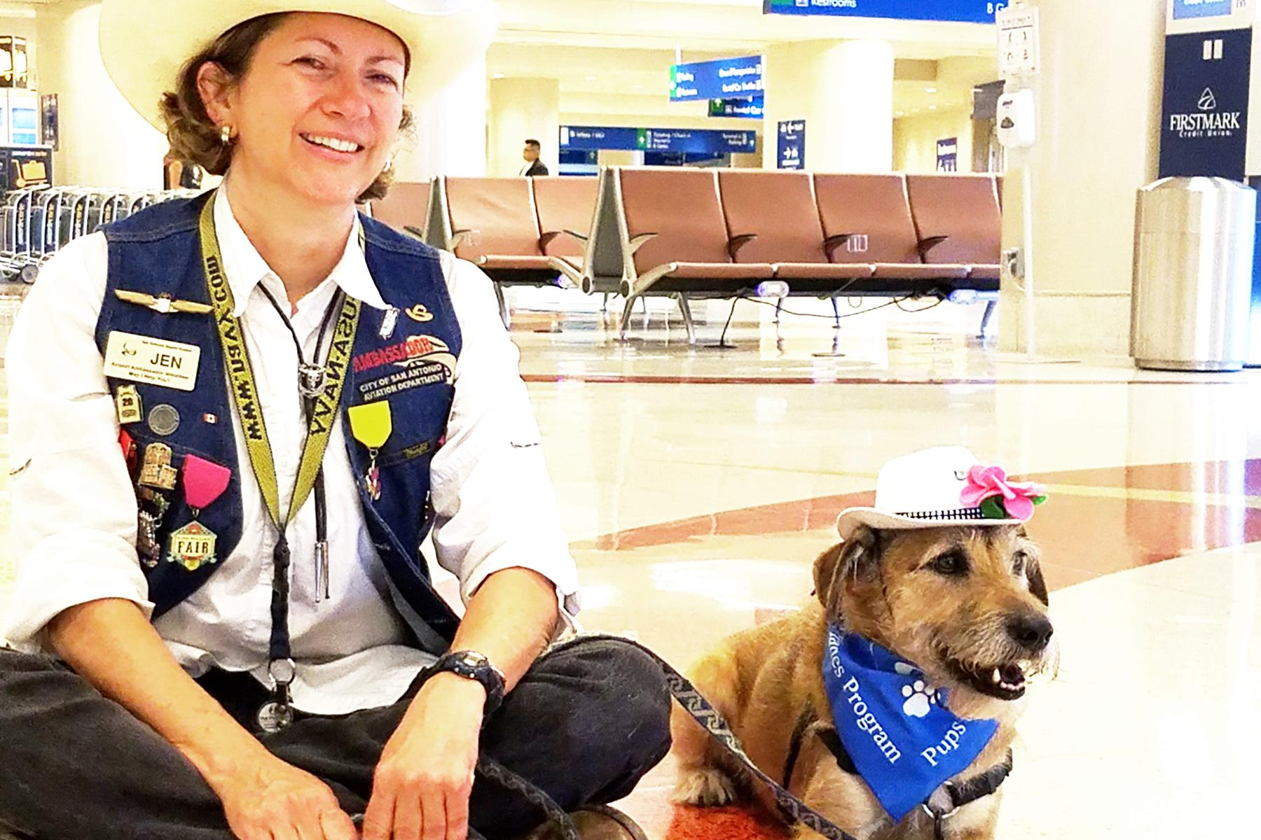 Airports With Therapy Dogs
